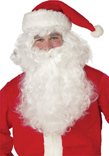 8eighteen Santa Claus Beard Christmas Costume Wig (Child Santa Wig And Beard)