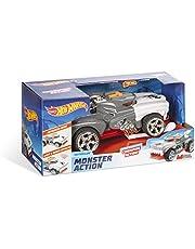 Mondo Motors 51221 Hot Wheels Monster Action Monster Action HoTWEILER koppelingsmachine voor kinderen - licht en geluid