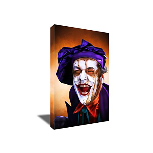Jack Nicholson JOKER Canvas BOO Painting Poster Artwork for sale  Delivered anywhere in USA
