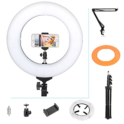 Zomei 14 in 1 dimmable LED light ring