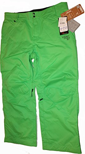 Obermeyer Saranac Mens Insulated Ski Snowboarding Pants Green Size XL (Snowboarding Obermeyer Pants)