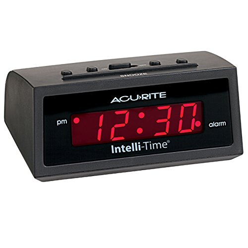AcuRite 13002 Intelli Time Digital Alarm