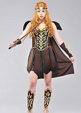 Disfraz Adulto Gladiator señora Princesa guerrera Medium (UK 10-12 ...