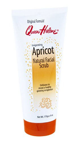 - QUEEN HELENE Natural Facial Scrub, Invigorating Apricot 6 oz ( Pack of 9)