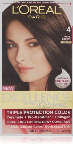 L'Oréal Excellence Richesse des cheveux couleur brun foncé