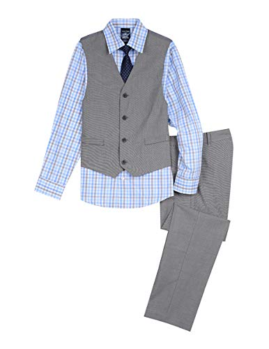 Nautica Boys' Big 4-Piece Formal Dresswear Vest Set,