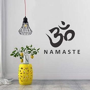 Tatuajes de pared Buda de Namaste Tatuajes de pared Cita Estudio ...