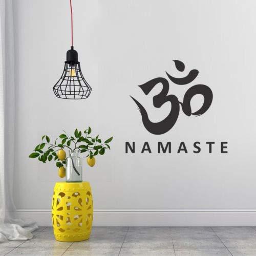 Crjzty Pegatina para La Pared Tatuajes de Pared Namaste Buda ...