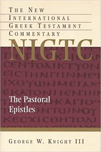 Image result for knight pastoral epistles