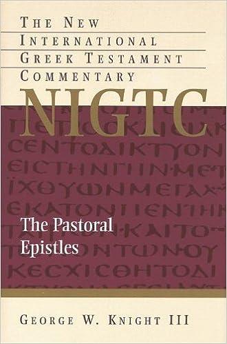 Image result for knight pastoral epistles