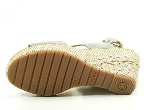 femme 825 mode Gris 42 Gabor sandales TY5wIwq