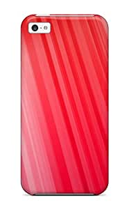 Iphone 5c Case Cover With Shock Absorbent Protective Red Case