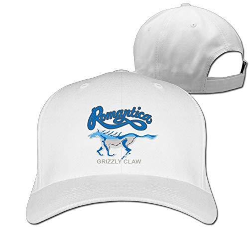 Aiguan Animal Printing Cap - Fashion 100% Cotton Hat White
