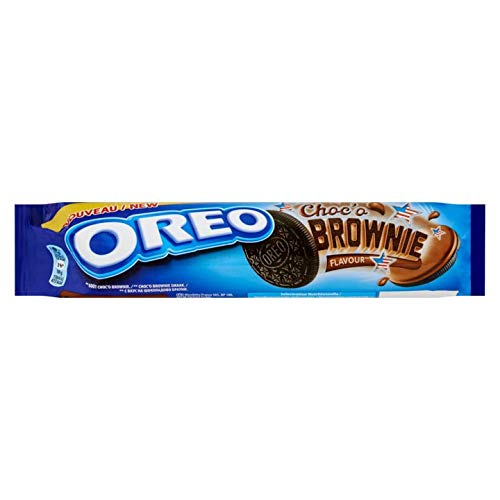 Chocolate Brownies | Oreo | Choc'o Brownie Taste 14 Pieces | Total Weight 5.43 ounce