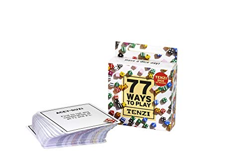 77 Ways to Play Tenzi - All Ages Dice Party Game Add-On Card Set ()