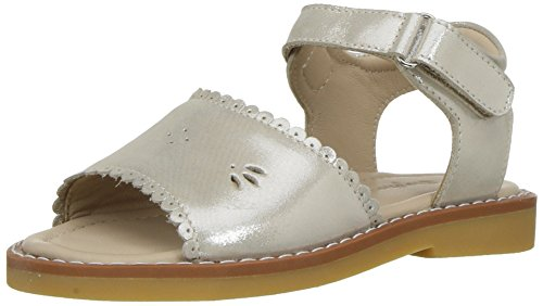 Elephantito Girls' Classic Sandal, Talc, 10 M US Toddler Toddler Classic Sandal