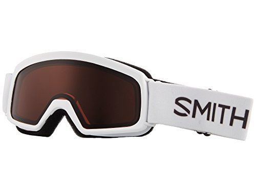 Jr Ski Goggle - Smith Optics Youth Rascal Snow Goggles White Frame/RC36