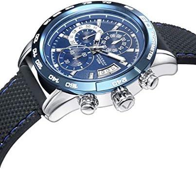 Viceroy - Cronografo da uomo, in acciaio IP blu, quadrante blu.