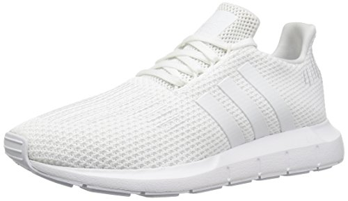 Adidas Women's Swift Run W Running-Shoes,White/White/White,8.5 M US by adidas Originals