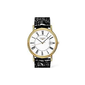 Longines Reloj Análogo clásico para Hombre de Cuarzo con Correa en Cuero L47902112 3