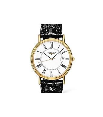 Longines Reloj Análogo clásico para Hombre de Cuarzo con Correa en Cuero L47902112: Amazon.es: Relojes
