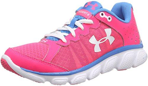 Under Armour UA W Micro G Assert 6 - Zapatillas de Running Mujer Rosa  (HYR/DOB/WHT 962)