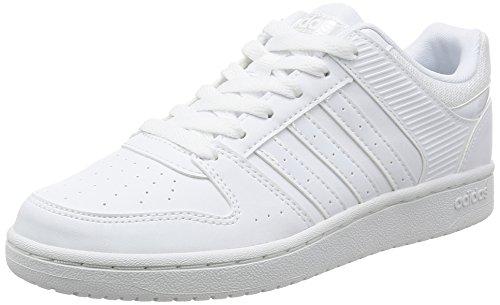 adidas VS HOOPSTER W - Zapatillas deportivas para Mujer, Blanco - (FTWBLA/FTWBLA/FTWBLA) 41 1/3