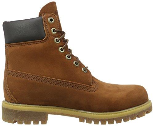 Timberland 6 in Premium FTB_6 in Premium Boot, Stivali uomo Marrone (Marron (Cognac Waterbuck))