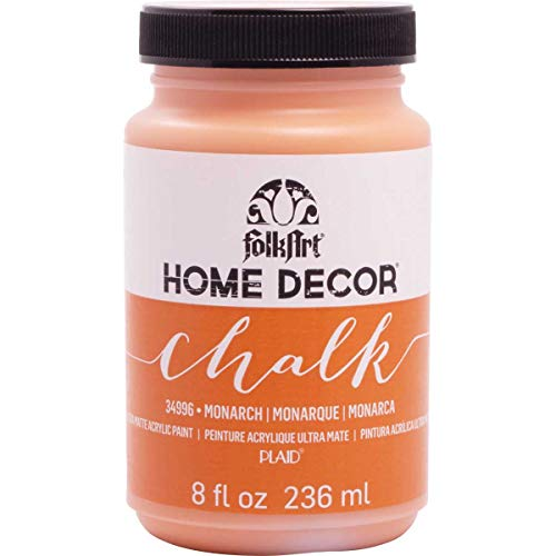 (FolkArt 34996 Home Decor Chalk Furniture & Craft Paint in Assorted Colors, 8 Ounce, Monarch)