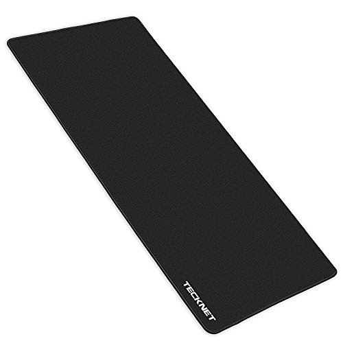 TeckNet XXL Gaming Mouse Pad, 35.4″x17.7″ Extended Extra Large Mouse pad Computer Keyboard Mousepad with Non-slip Rubber Base