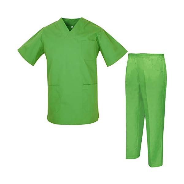 MISEMIYA Uniforms Unisex Scrub Set Conjunto de Trabajo para Hombre 1