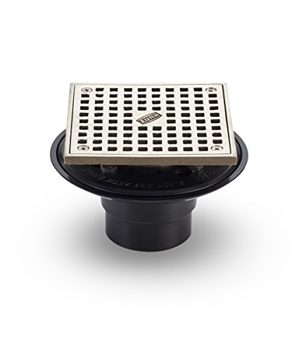Zurn FD2254-AB2-S5 ABS Square Shower Drain with 5