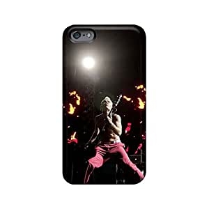 Shockproof Hard Phone Cover For Iphone 6plus (Pfj1863UqvD) Unique Design Colorful Red Hot Chili Peppers Image