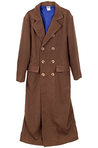 elope Doctor Who 10th Doctor Coat by (The Second Doctor Costume)