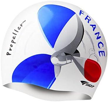 koreatrends Francia bandera, imagen de propulsor, silicona gorro cabeza: Amazon.es: Deportes y aire libre