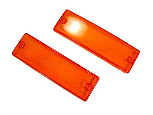 Front Bumper Light Amber Lens For Mitsubishi L200 Cyclone Pickup/Mitsubishi Mighty Max Pickup 1987-1996