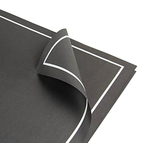 20 PCS Chic Gift Wrap Paper Modern Flower Packaging Materials