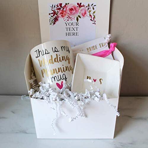 Unique Wedding Gifts For Best Friend: Amazon.com: Engagement Gift Box