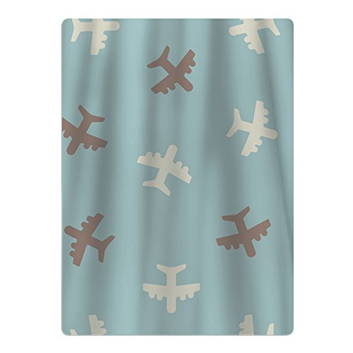 Austin Youth Bed (Airplane Repeating Pattern Youth Quick-drying Pool Beach Towel Travel Bath Towel)