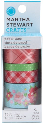 Martha Stewart Crafts Paper Tape, Vintage Girl