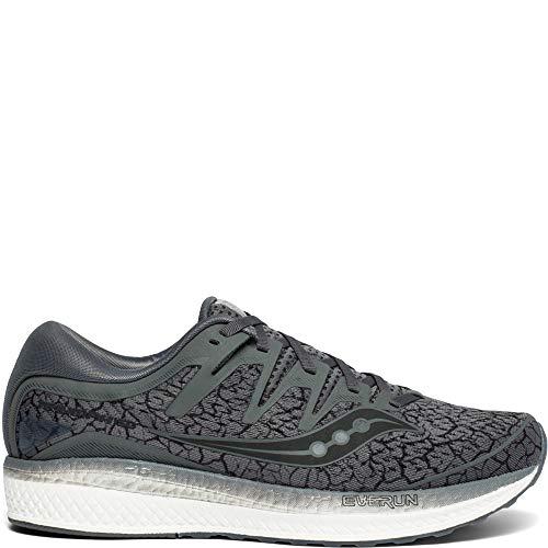 Saucony Men's Triumph ISO 5 Running Shoe, ash Quakemustard, 10.5 M US