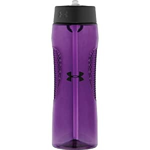 Under Armour Elevate 22 Ounce Tritan Bottle with Straw Top, Flourish