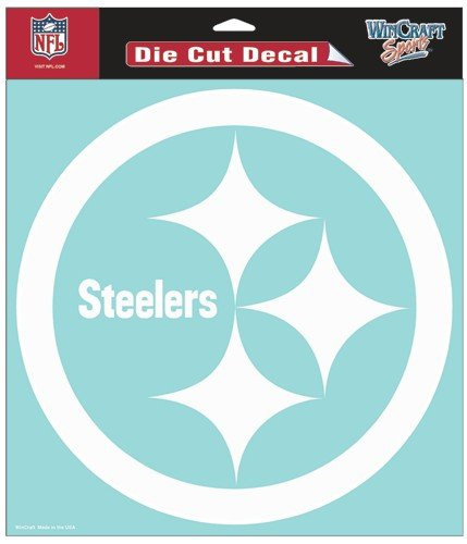 - WinCraft NFL Pittsburgh Steelers WCR25650014 Perfect Cut Decals, 8