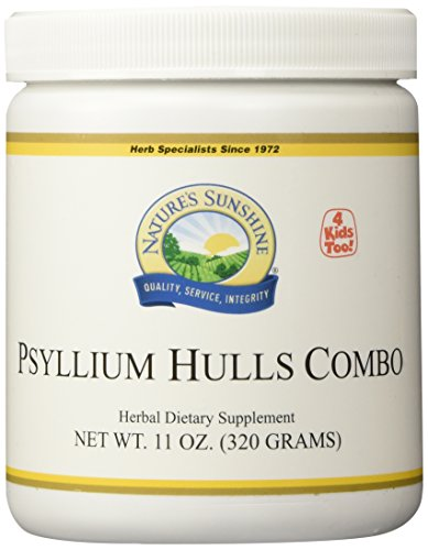 NATURE'S SUNSHINE Psyllium Hulls Combination Supplements, 11 Ounce Review