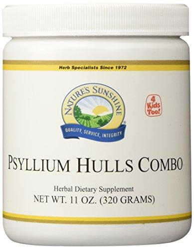 NATURE'S SUNSHINE Psyllium Hulls Combination Supplements, 11 Ounce