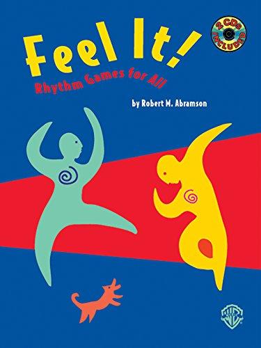 Feel It!: Rhythm Games for All, Book & 2 CDs