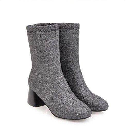 parte y El invierno botas audaz el y hembra otoño ZQ corto botas QX versátil black cilindro elegante jefe y YxwX5qnPa