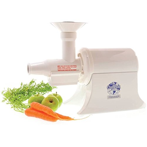 Champion Juicer G5-PG710 - Commercial Heavy Duty Juicer, White, Standard size