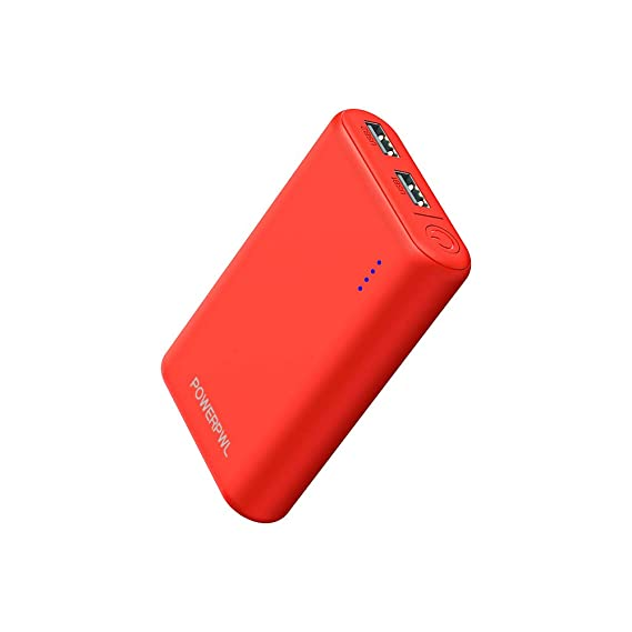 POWEROWL Power Bank 7800mAh High Capacity Portable Charger External Battery Charger Compatible with iPhone iPad Samsung and More