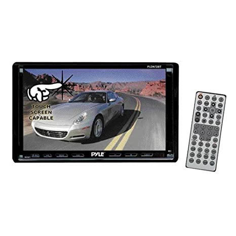 amazon com pyle pldn72bt 7 inch double din tft touch screen dvd vcd rh amazon com